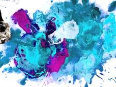水彩画艺术背景