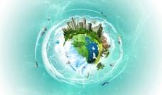地球 创意设计图片
