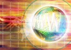 现代通信科技网站设计广告创意环球网络篇