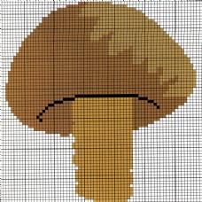 毛衫图案 蘑菇 毛衣 免费素材