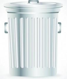 生动的垃圾桶的设计元素矢量集04