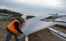 太阳能安装图片