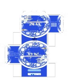 竹妃青花瓷夜用包装图片