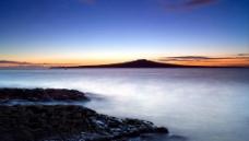 海边黄昏图片