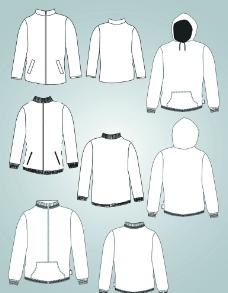 服装主题衣服模型实用图片