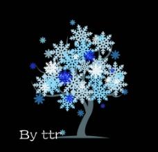 四季树 冬图片