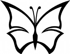 摘要蝴蝶夹艺术