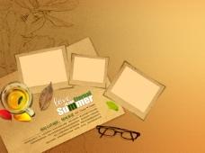 卡片相片相框PSD素材