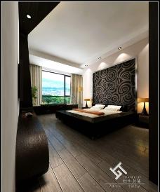 桂林鼎合室内设计装饰主卧图片