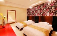 室内 标间 卧室图片