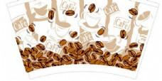 咖啡杯模板设计